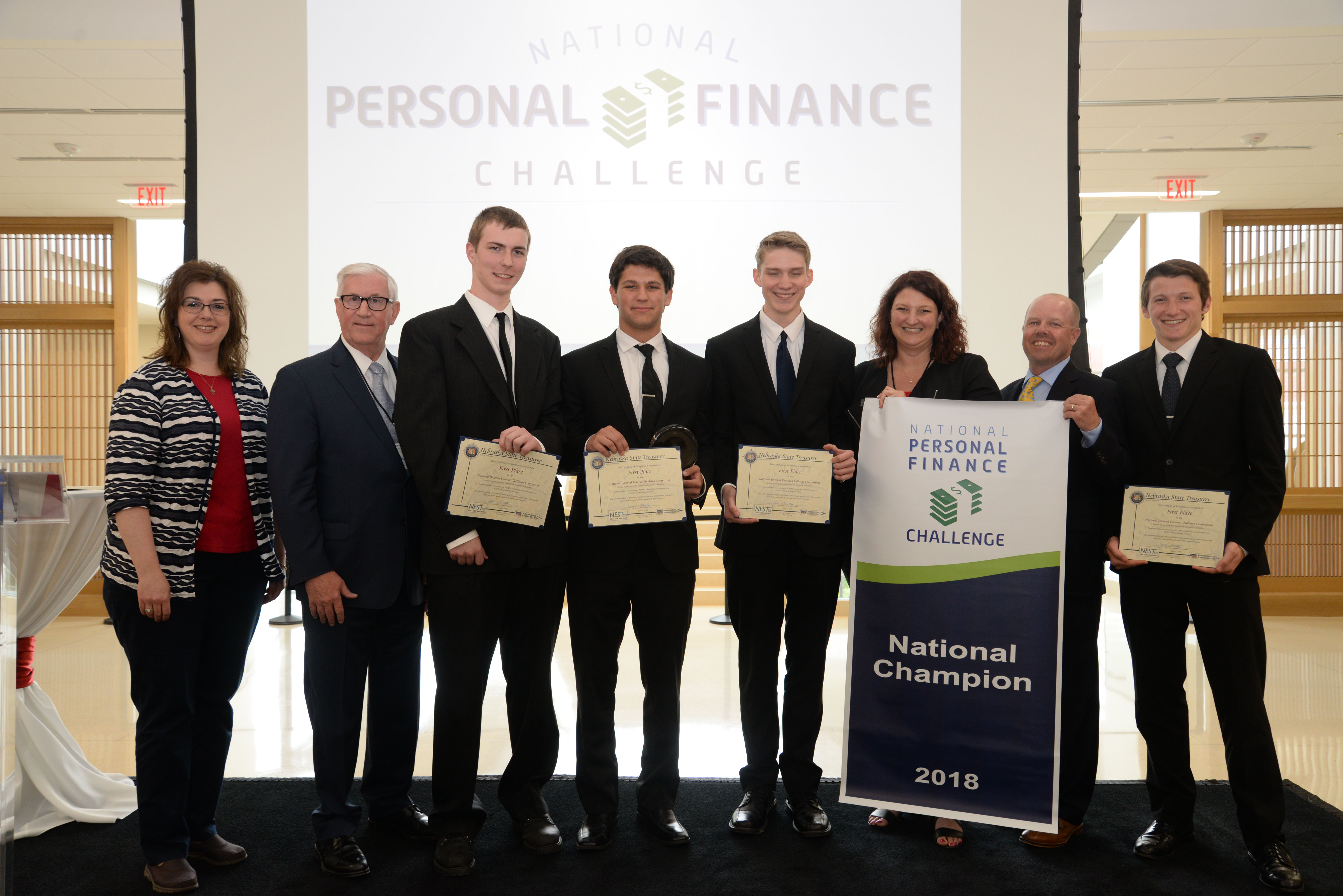 Chelsea High School, National Personal Finance Challenge Champions