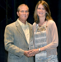 Dave Adams & MCUF Award Winner Heather Luciani