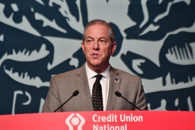 MCUL's President/CEO Dave Adams addresses CUNA GAC attendees
