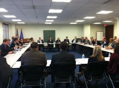 Michigan credit union leaders meet with NCUA chair Debbit Matz
