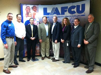 Capitol Area chapter of CU's legislative breakfast at LAFCU