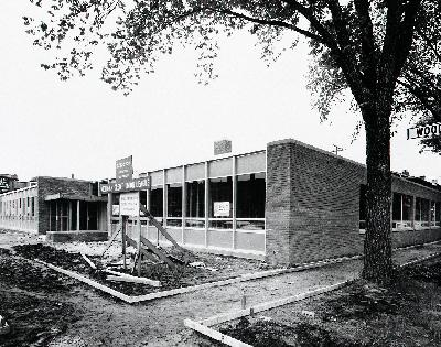 MCUL Offices under construction in Detroit