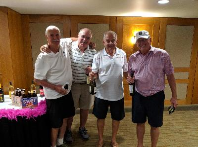 2018 Golf Outing Winners from Sovita Credit Union