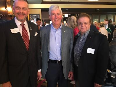 CU leaders attend a Governor Snyder reception